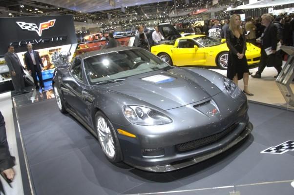 Corvette ZR1 hat in Genf Europapremiere