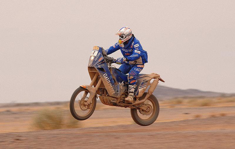 Der Motorradbewerb der Dakar: Klare Favoriten - überzeugte Außenseiter