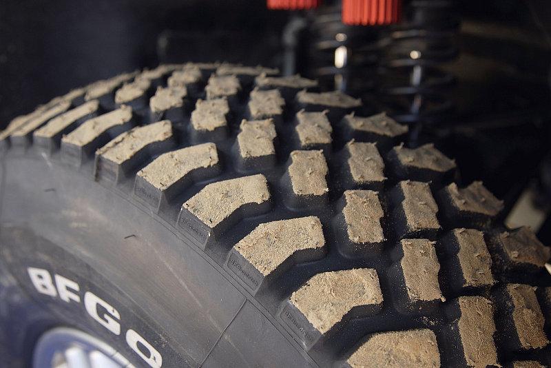Die richtigen Reifen für die Wüste: Im Ozean aus Sand