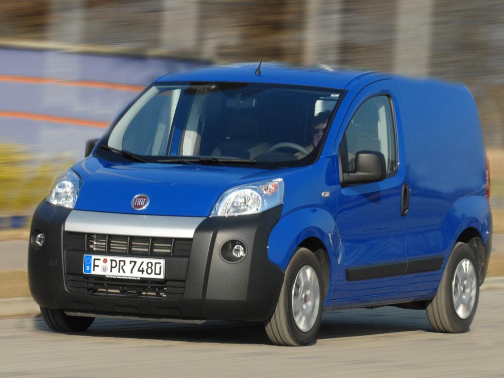 Fiat Fiorino mit zwei Motoren und in vier Versionen