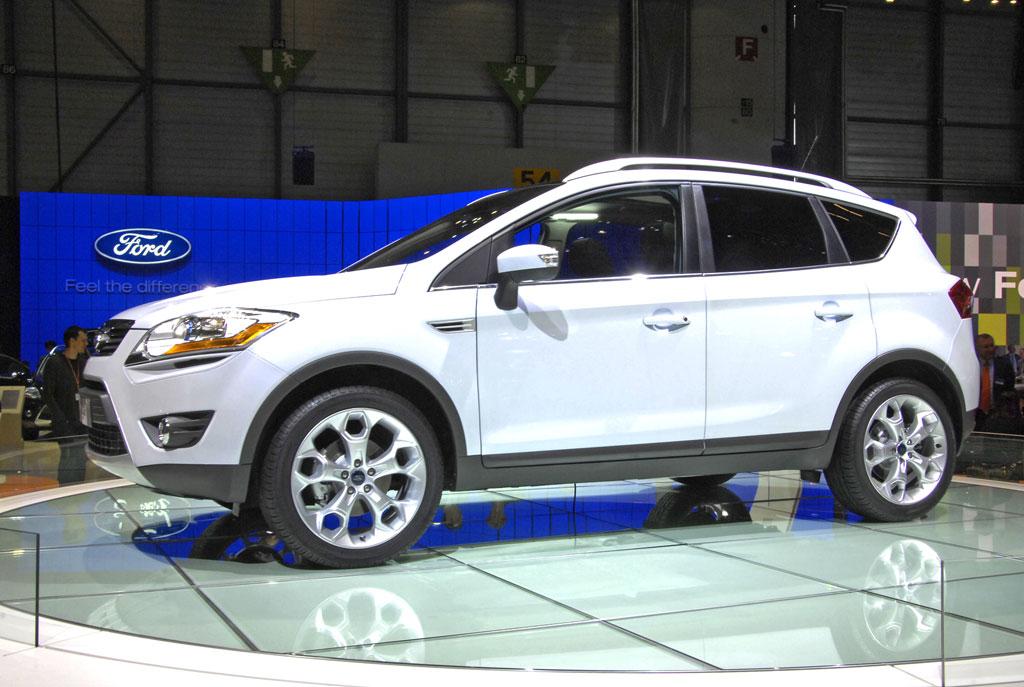Ford stellt den Kuga und den Mondeo Econetic vor