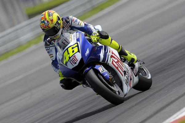 Geteiltes Yamaha: Zufriedener Rossi - unzufriedener Lorenzo