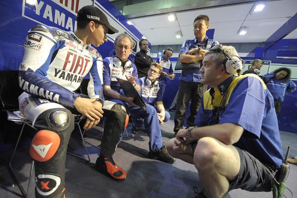 Gute Stimmung bei Yamaha: Zwei Sieg-Kandidaten
