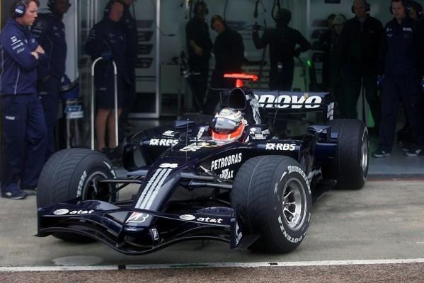Hülkenberg fährt FW30 aus: Williams tappt im Nebel