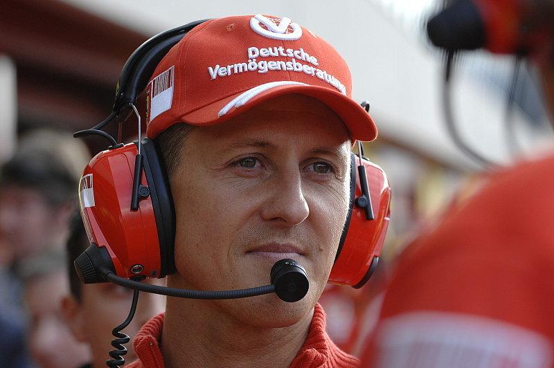 Hat Michael Schumacher die Comebackitis?: Schumacher testet F2008