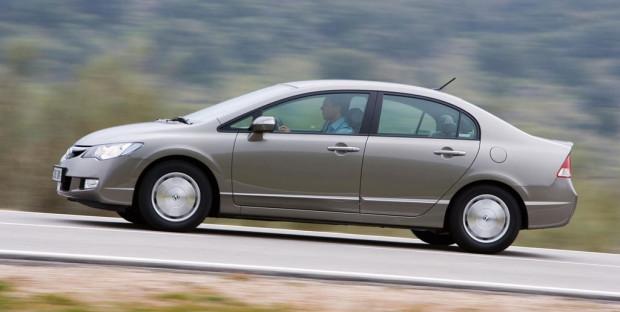 Honda Civic Hybrid erhält zum zweiten Mal Umwelt-Zertifikat