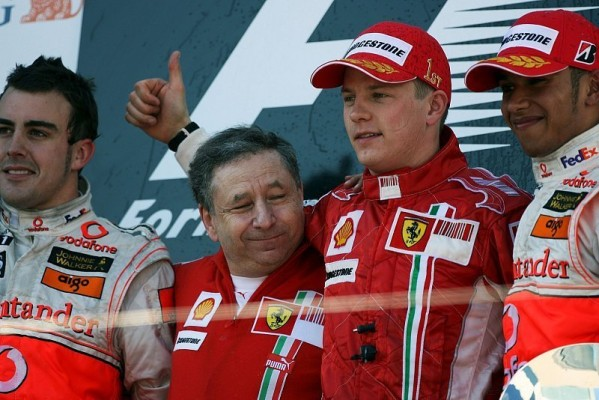 Jean Todt bekundet: Räikkönen und Alonso auf selbem Level