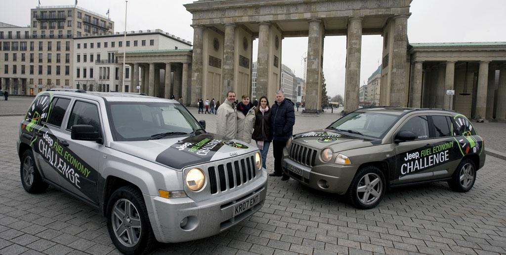Jeep Patriot verbrauchte 4,18 Liter auf 100 Kilometer