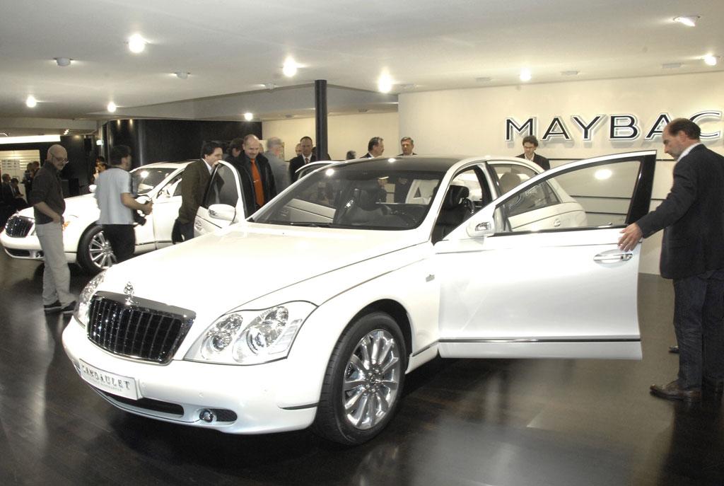 Maybach Landaulet wird auf Bestellung gebaut