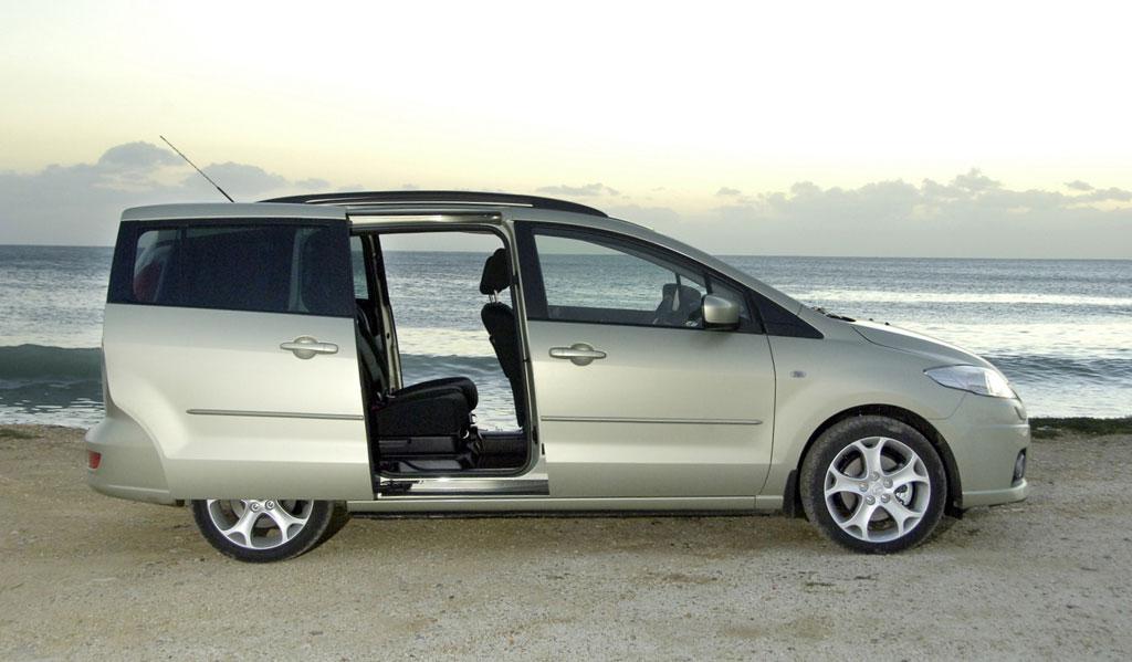 """Mazda 5 gewinnt Auszeichnung """"Handicap-Auto des Jahres 2008"""""""