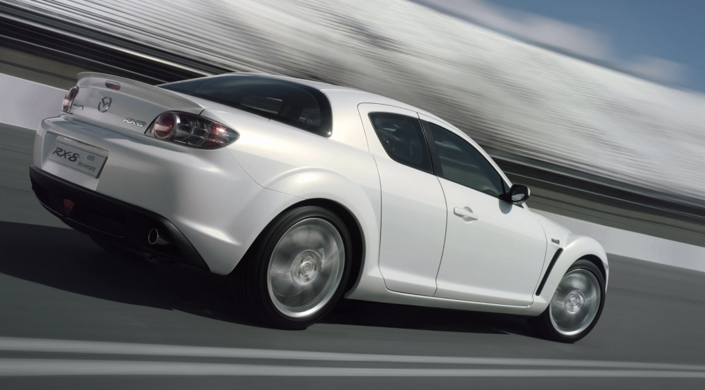 """Mazda RX-8 als Sondermodell """"40th Anniversary"""""""