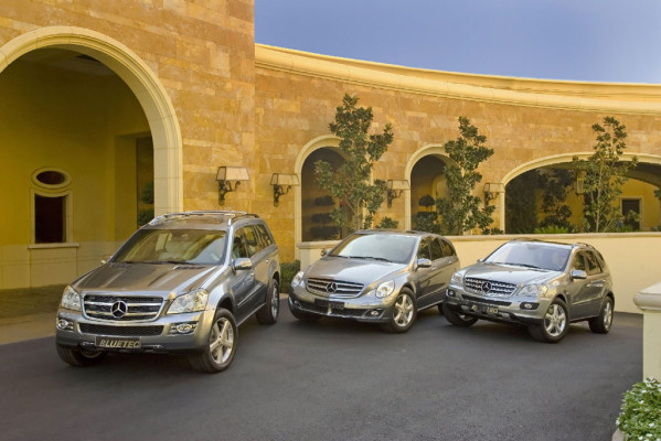 Mercedes-Diesel für Kalifornien