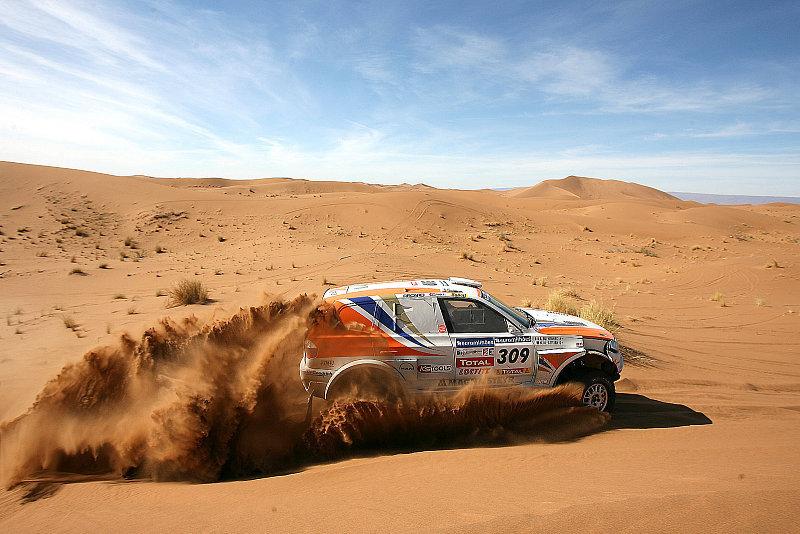 Nasser Al-Attiyah: Zu schnell für das Podium?
