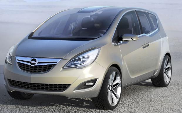 Opel präsentiert Meriva Concept in Genf