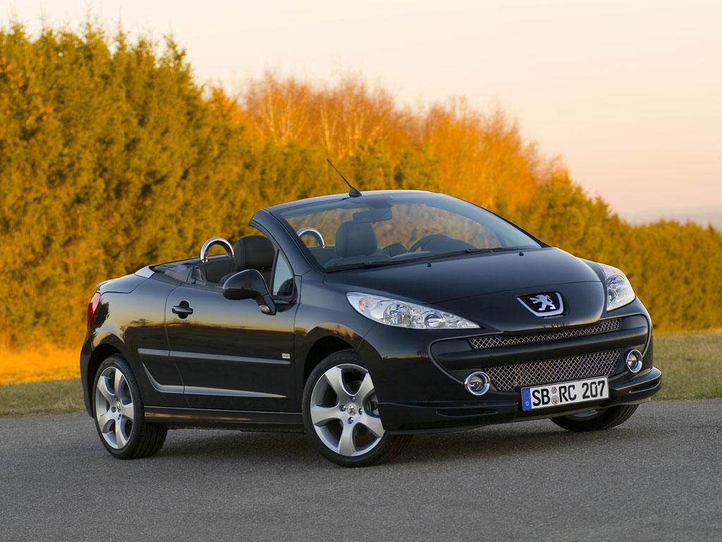 Peugeot 207 CC als Roland Garros und RC-Line