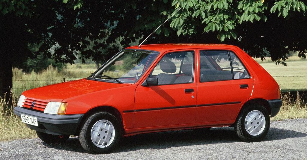 Peugeot feiert 25 Jahre 205 auf der Techno Classica 2008