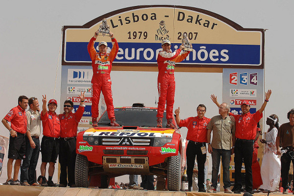 Rückblick Dakar 2007: Des einen Leid - des anderen Sieg