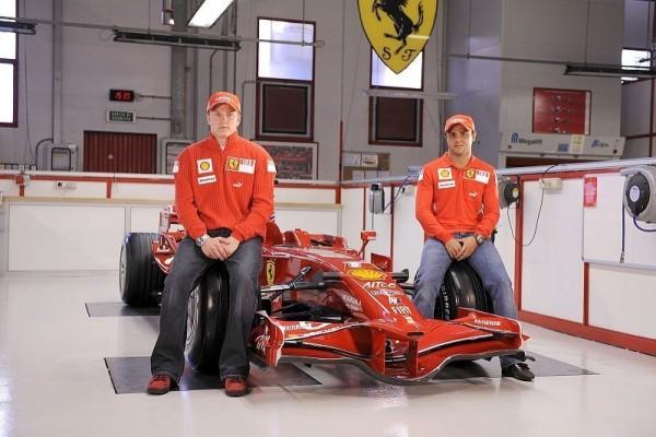 Räikkönen und Massa: Ein Kind großziehen