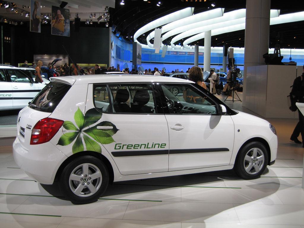 Skoda Fabia Green Line erhält Umwelt-Zertifikat