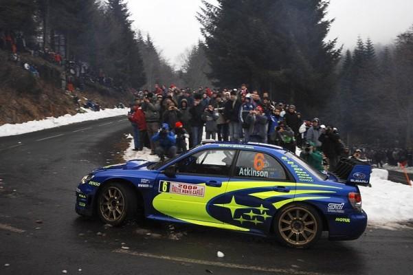 Subaru macht sich auf nach Schweden: Snow is falling