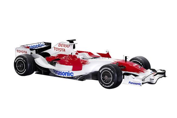 Toyota zeigt den TF108: Härter, schneller, schlauer