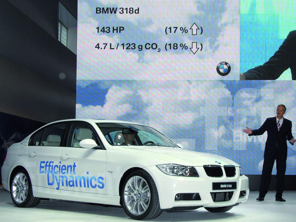 Umwelt-Zertifikat für BMW 118d und 318d