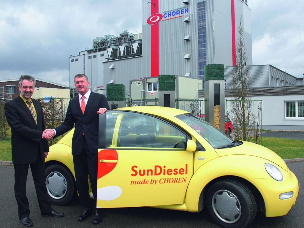 Volkswagen übergibt New Beetle an Hersteller von SunDiesel