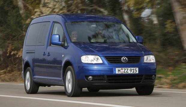 Volkswagen stellt Caddy Maxi Life EcoFuel vor