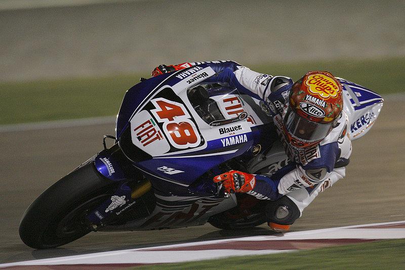 Warm-up MotoGP: Lorenzo, Stoner, Rossi