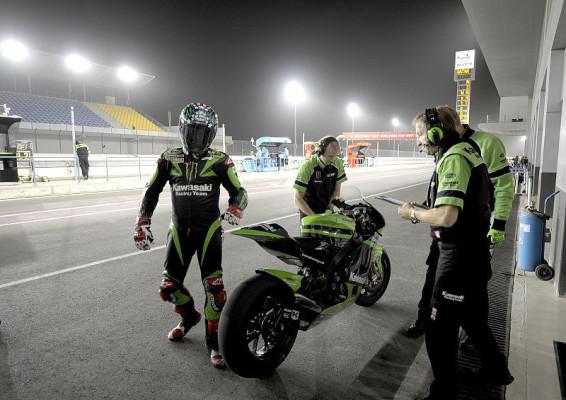 Was in Katar sonst noch zu sagen war: Kleine Schatten, kühle Reifen