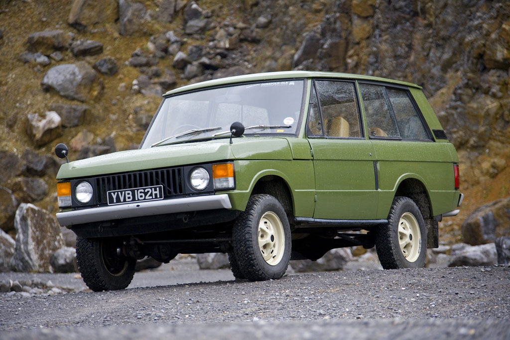60 Jahre Land Rover: Ein Ritt durchs Gelände