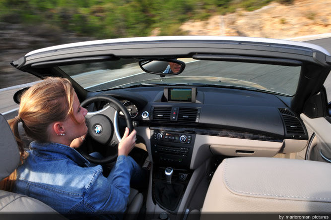 A little star is born - BMW 125i Cabriolet