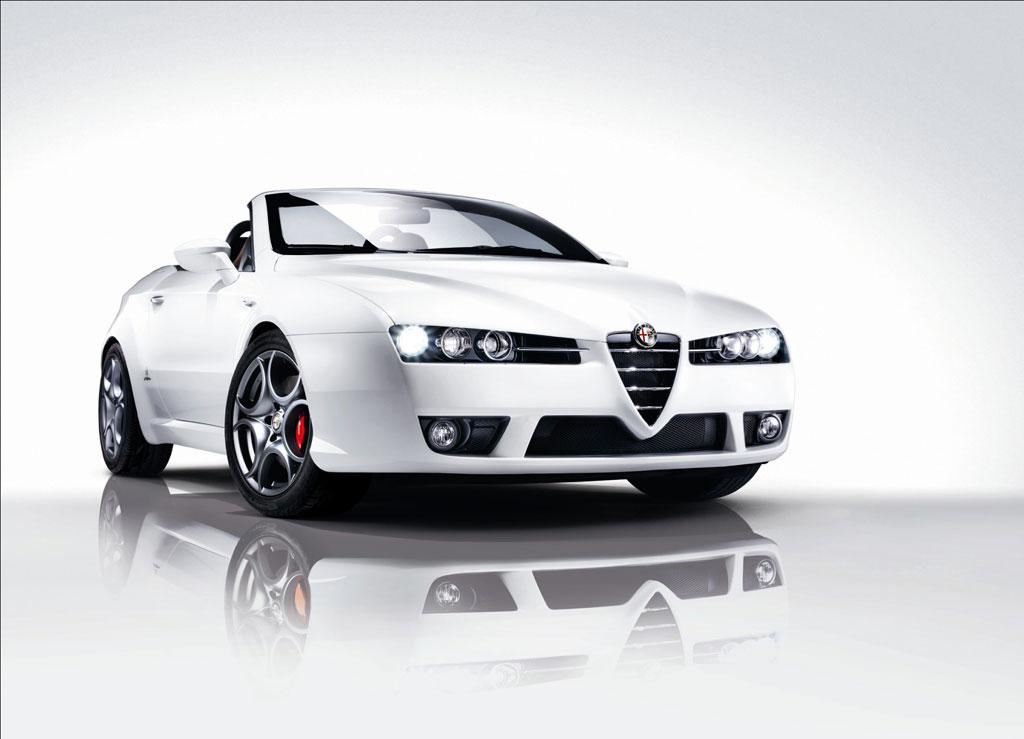 Alfa Romeo Spider Edizione und Brera Edizione