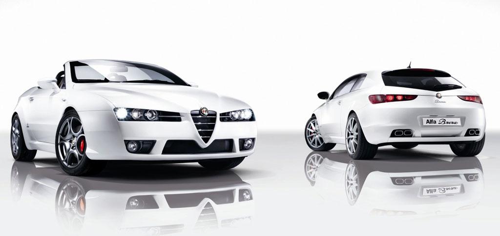 Alfa Romeo Spider und Brera als Edizione-Modelle