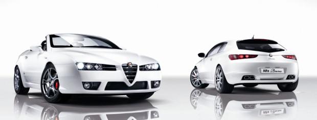 Alfa Spider und Brera für 2008 überarbeitet