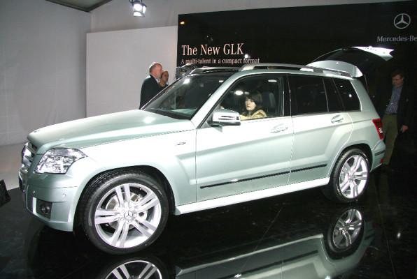 Auch Mercedes mit einer Weltpremiere in Peking: Mercedes-Benz GLK
