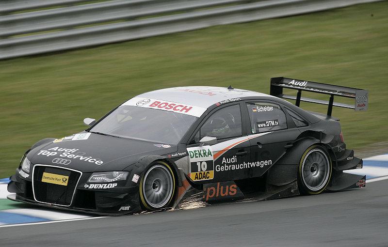 Audi-Quartett an der Spitze: Scheider nicht zu stoppen