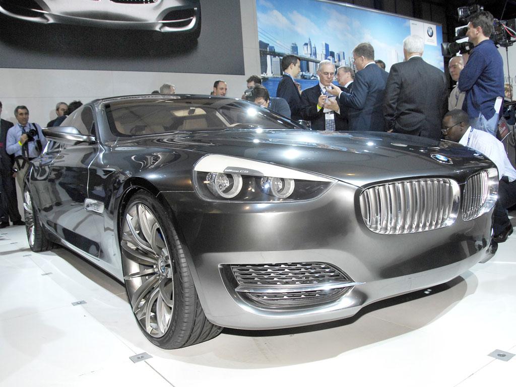 BMW mit viertürigem Gran Turismo Concept CS in Leipzig
