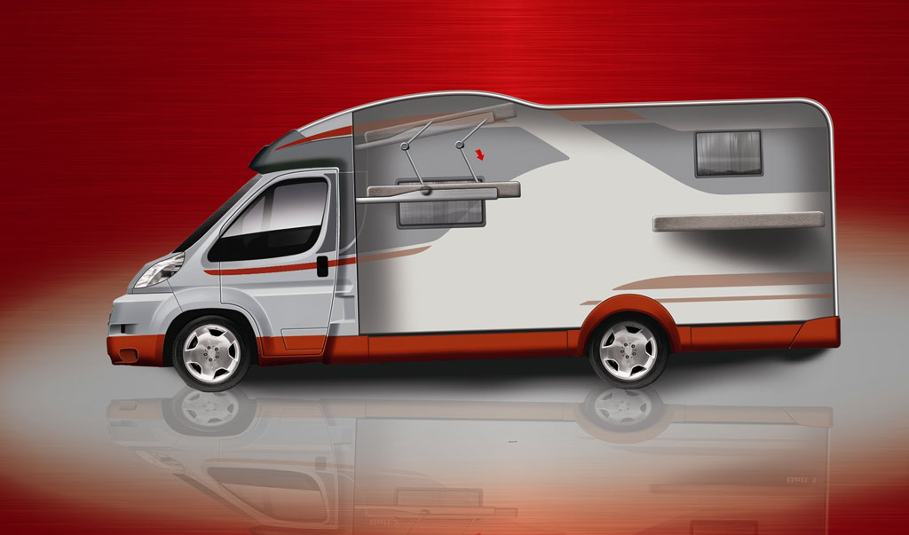 Caravan- und Reisemobil-Sondermodelle von Bürstner