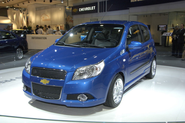 Chevrolet Aveo kostet als Dreitürer unter 10 000 Euro