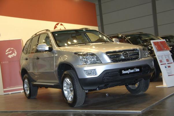 China Automobile zeigt in Leipzig weitere Modelle