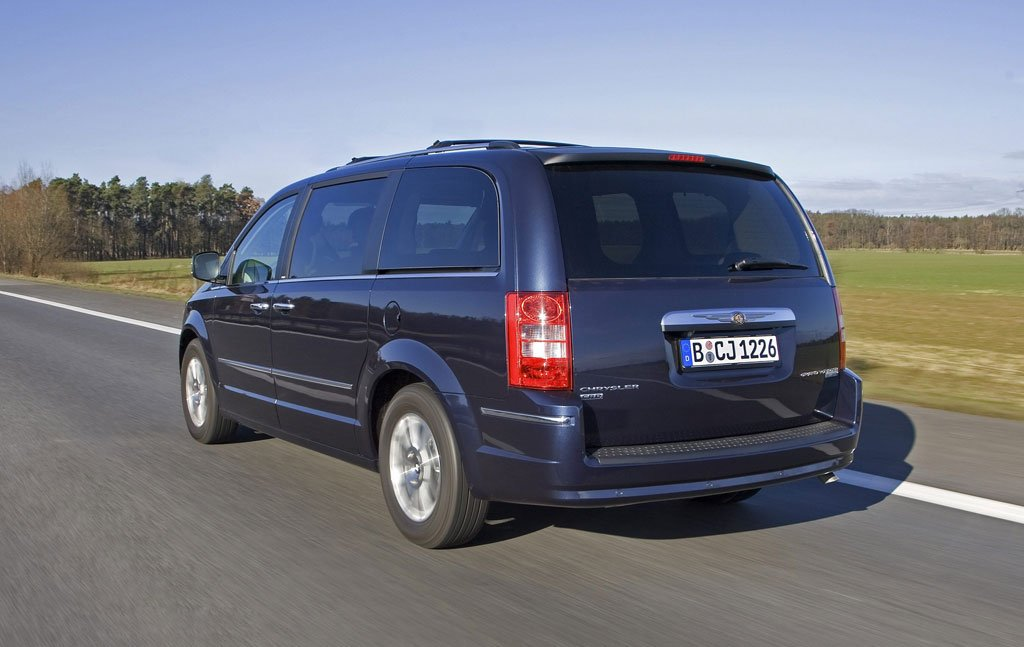 Chrysler Grand Voyager: Für Familien auf Reisen