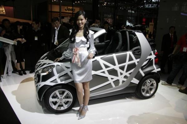 Der Smart rollt 2009 auch nach China