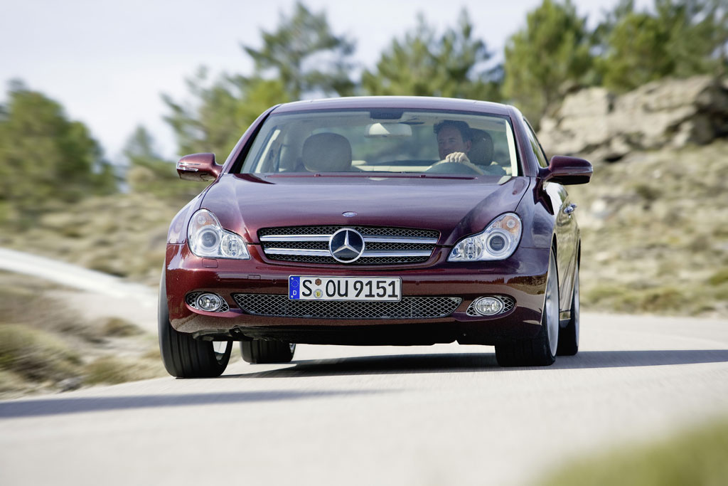 Feinschliff beim Mercedes-Benz CLS