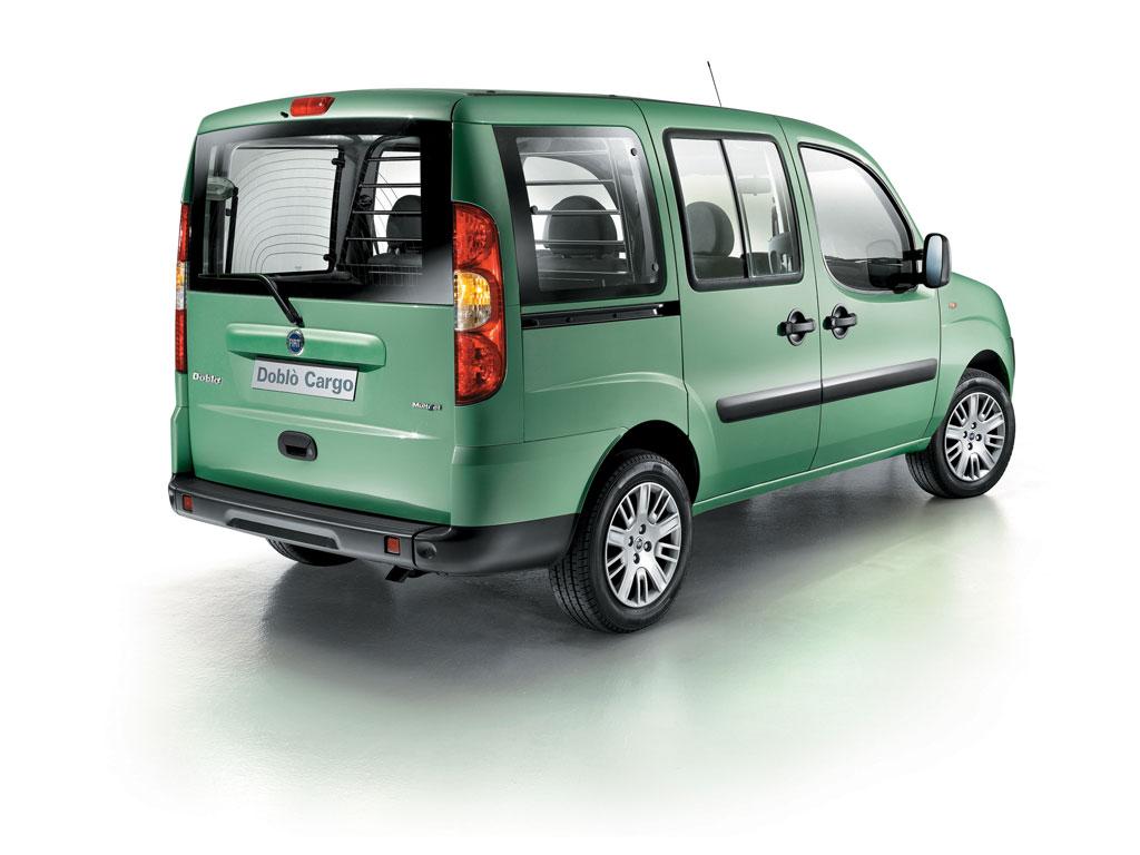 Fiat präsentiert Doblò Cargo Maxi mit Erdgas