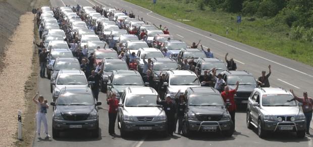 Kia unterstützt 'Sorento Tag' im Fahrsicherheitszentrum