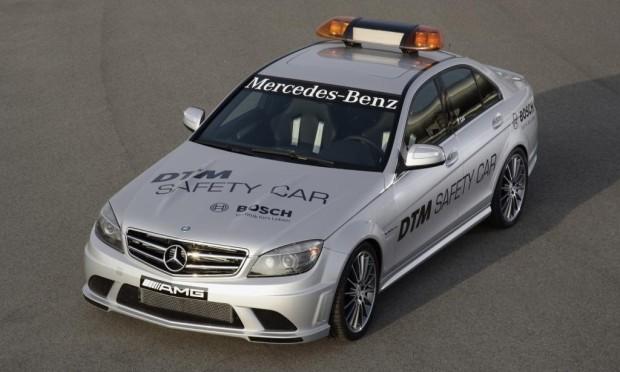 Mercedes-Benz C 63 AMG erstmals als Safety-Car im Einsatz