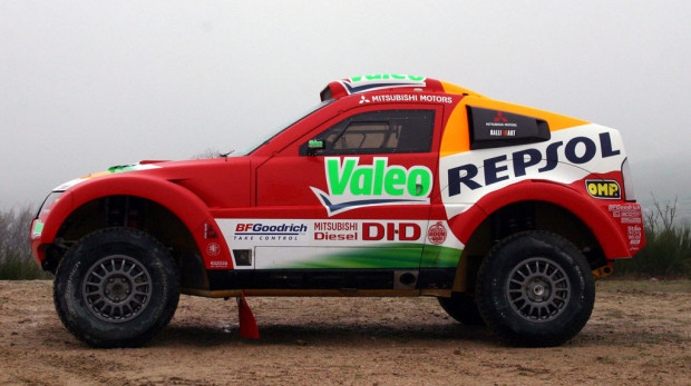 Mitsubishi startet mit Diesel-Pajero bei Central Europe Rallye