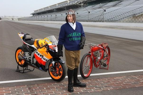 Nicky Hayden: Aufgeregt in Indy