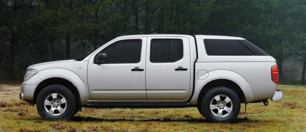 Nissan bietet Hardtop für den Navara